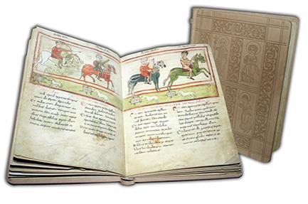 Obras únicas de la Edad Media en facsímil