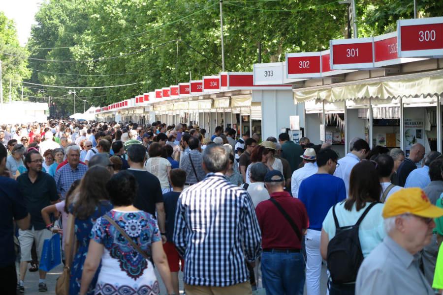 El facsímil en la Feria del Libro de Madrid